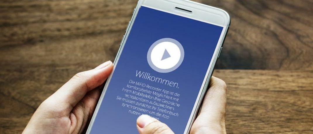 Die App soll das Taping einerseits unabhängig von Ort und technischem Setup machen, andererseits verspricht das Unternehmen mehr Komfort.