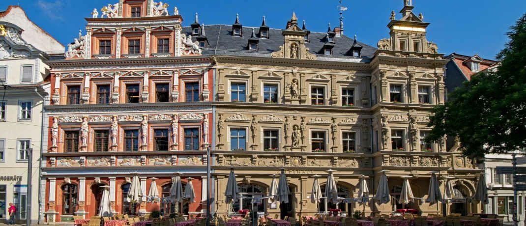 Fischmarkt in Erfurt: In Thüringens Hauptstadt erwarb der neue Credit-Suisse-Fonds ein Objekt|© Pixabay