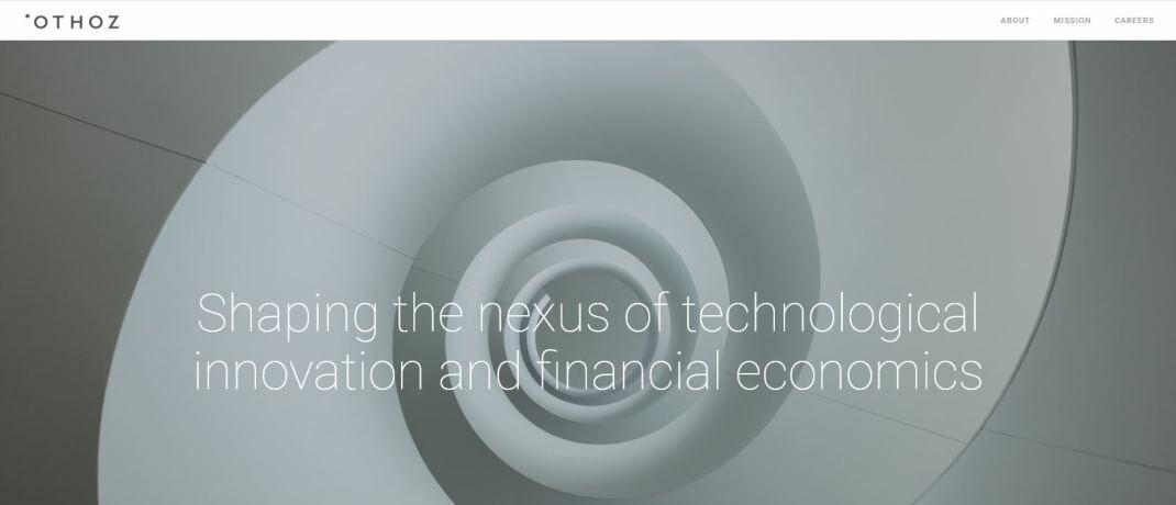 Othoz-Website: Dem Fonds liegt eine quantitative Investmentstrategie zugrunde, die den Angaben zufolge auf hauseigenen Forschungsergebnissen im Bereich des maschinellen Lernens. |© Othoz Capital
