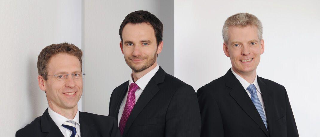 Jens Kummer, Damian Krzizok, Andreas Bichler (v.l.n.r.), Starcapital. Sie betreuen den BB Europe Equity Market Neutral.|© Starcapital