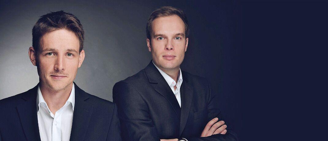 Jérémie Couix (links) und Sebastian Hahn, die beiden Gründer der HC Capital Advisors, kennen sich seit mehr als zehn Jahren und hatten schon früh die Idee für einen gemeinsamen Fonds.