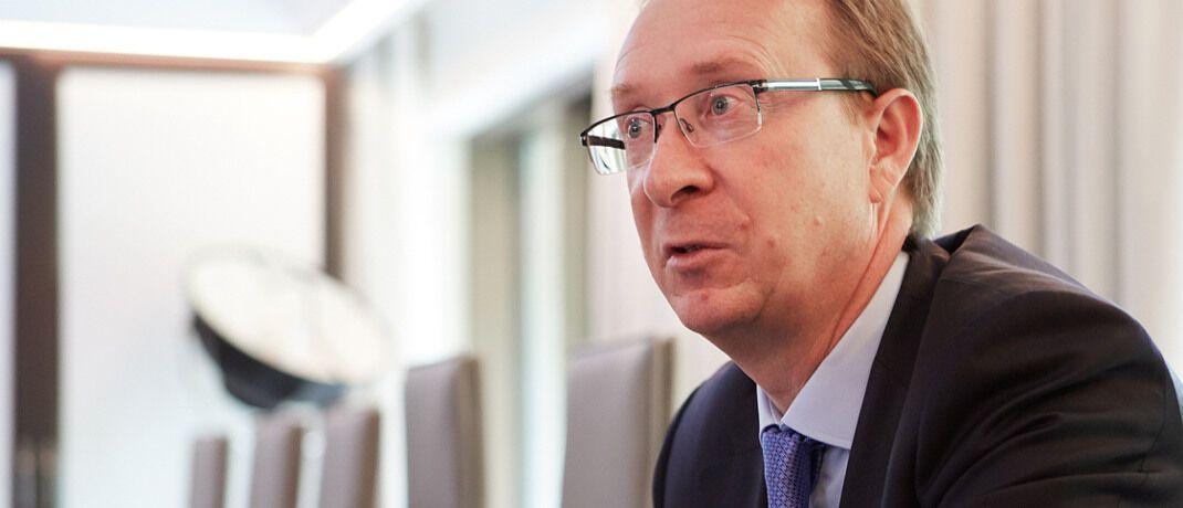 Setzt einen klaren Schwerpunkt bei Unternehmensanleihen: Richard Woolnough, Manager des M&G Optimal Income.|© Alex Habermehl
