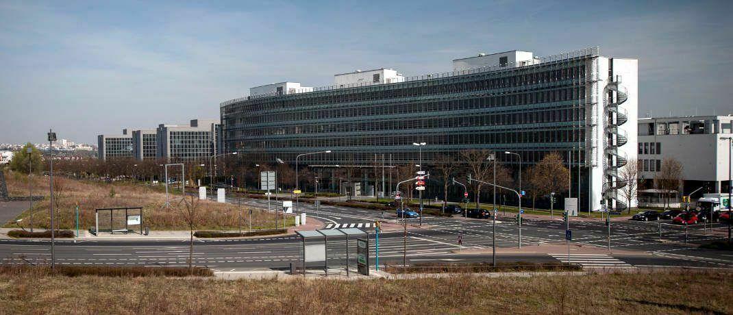 Sitz der Bafin in Frankfurt: Die Behörde warnt vor Betrügern, die ihren Namen missbrauchen.|© Kai Hartmann / BaFin