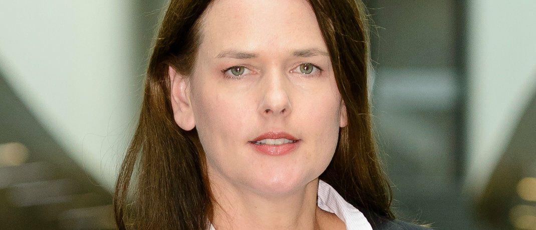 Dorothea Mohn: Die Leiterin des Finanzmarkt-Teams beim VZBV wirbt für das Modell der Extrarente. Nationale Besonderheiten, wie die bedarfsabhängige Grundsicherung, würden hierbei berücksichtigt.|© VZBV