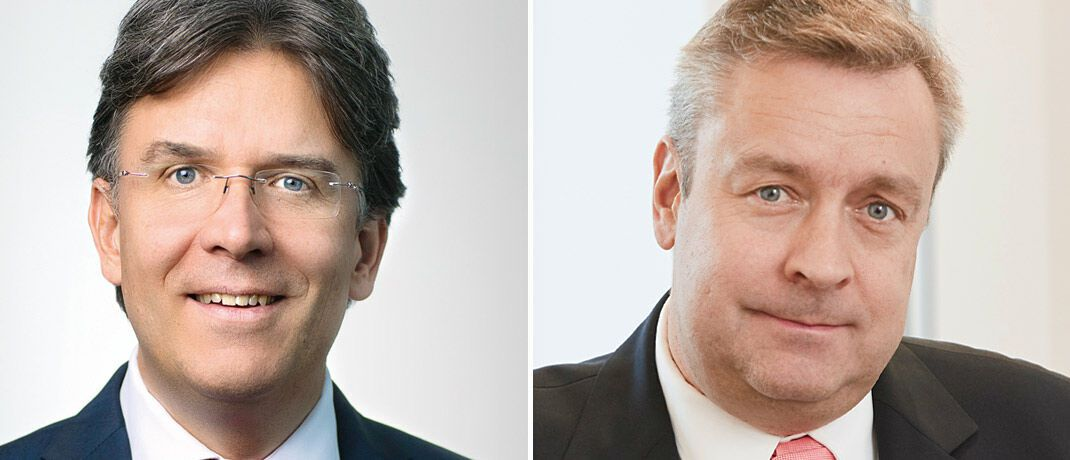 Frank Fischer (links) managt den Frankfurter Aktienfonds für Stiftungen, Christoph Bruns den Loys Global | © Shareholder Value Management, Loys