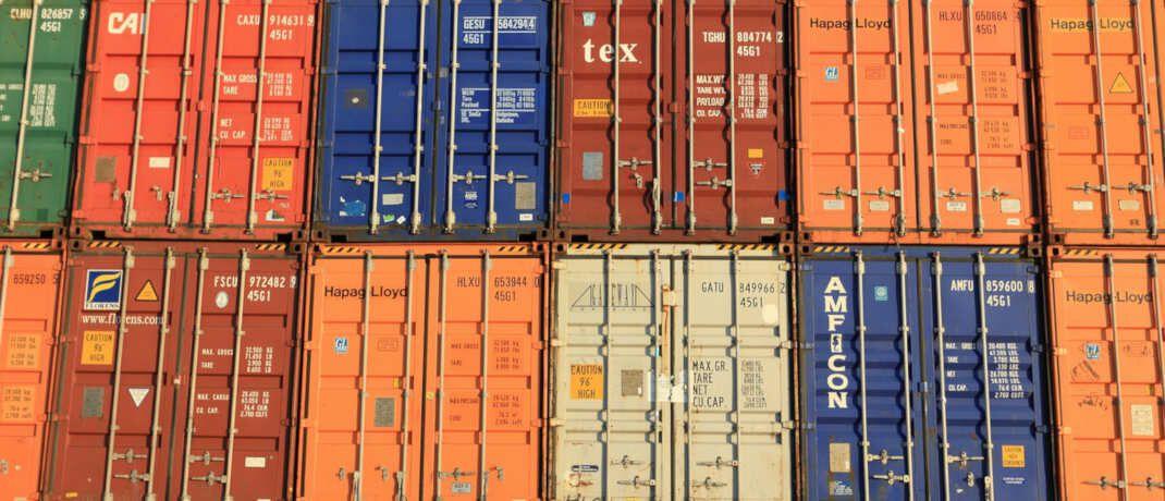 Container in Antwerpen, Belgien.|© Olafpictures / Pixabay