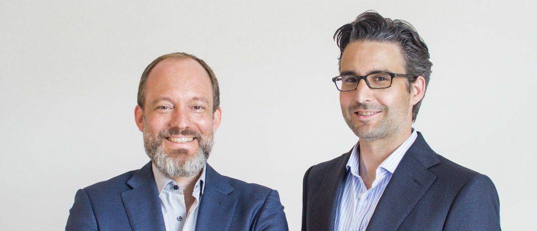 Die beiden Vaamo-Gründer Thomas Bloch (l.) und Oliver Vins: Aus der Robo-Advisor-Marke wird Moneyfarm.|© Vaamo