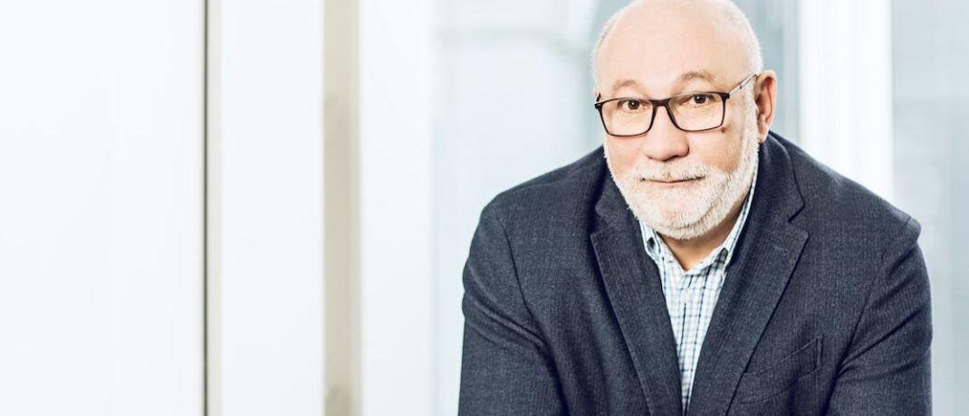 Walter Capellmann, Hauptbevollmächtigter der Dela Lebensversicherungen in Deutschland.|© Dela