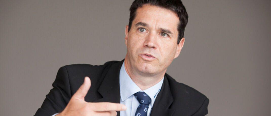 Oliver Pradetto: Der Geschäftsführer des Lübecker Maklerpools Blaudirekt spekuliert über die Hintergründe aktueller Pläne des Mitbewerbers Fonds Finanz.|© Florian Sonntag