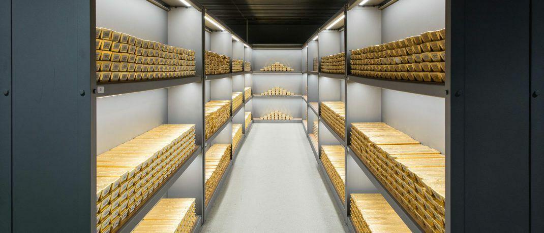 Goldbarren im Tresor der Deutschen Bundesbank in Frankfurt: Es gibt viele Argumente, die für das gelbe Edelmetall sprechen. © Nils Thies/Bundesbank