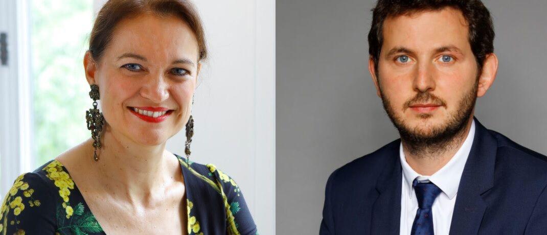 Sollen den neuen Infrastruktur-Spezialisten von Natixis IM leiten: Gwenola Chambon und Mounir Corm.|© Natixis IM