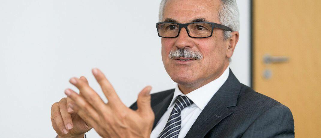 """Ebase-Chef Rudolf Geyer: """"Die Befragten gehen davon aus, dass ETFs in fünf Jahren rund die Hälfte ihrer Fondsanlagen ausmachen werden."""""""