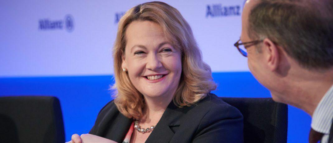 Ist von der zunehmenden Bedeutung digitaler Vermögensverwalter überzeugt: Allianz-Vorständin Jackie Hunt. |© Allianz