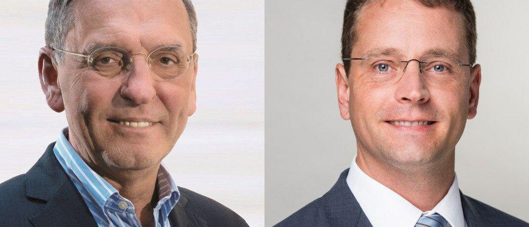 Defino-Chef Klaus Möller (li.) und Niels Nauhauser von der VZBW bewerten die DIN-Norm 77230 sehr unterschiedlich. © Defino/VZBW