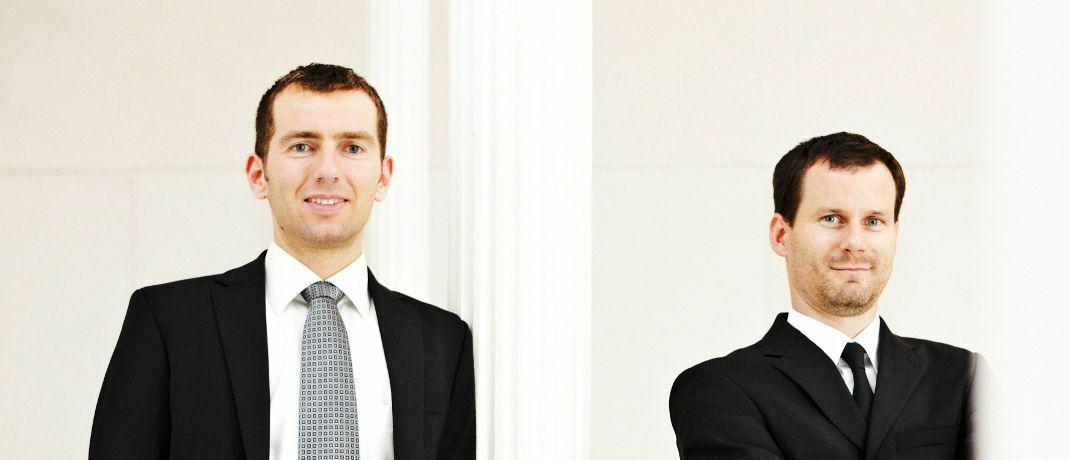 Uwe Rathausky (links) und Henrik Muhle sind die Vorstände des Value-Investors Gané und managen gemeinsam den Mischfonds Acatis Gané Value Event.|© Gané Aktiengesellschaft