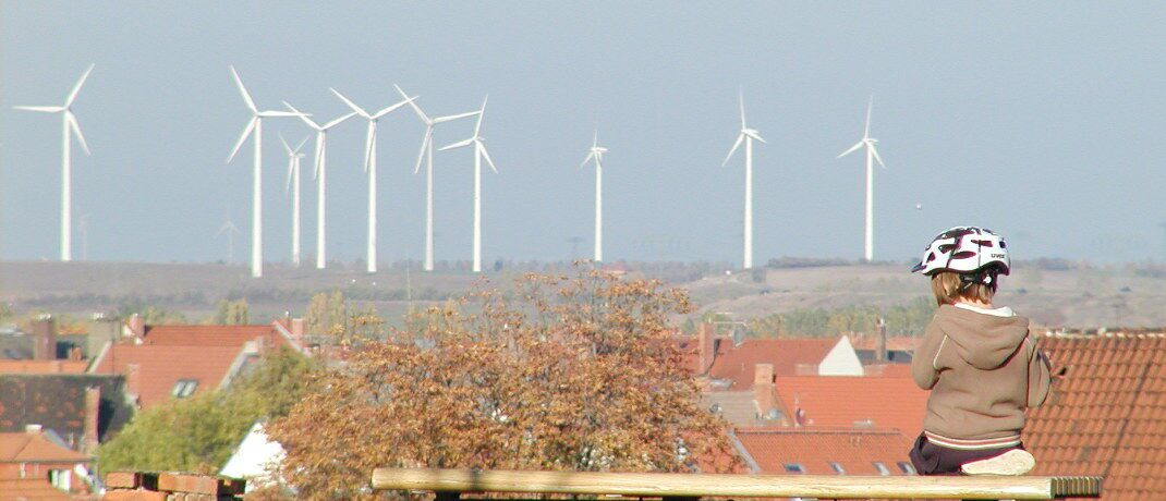 Windkraftpark: Das Thema Nachhaltigkeit spielt bei ETF-Investoren eine immer größere Rolle.|© millhouse / <a href='http://www.pixelio.de/' target='_blank'>pixelio.de</a>