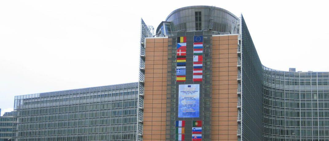 Das Berlaymont-Gebäude in Brüssel ist der Sitz des Generalsekretariats der Europäischen Kommission.  © Wikimedia