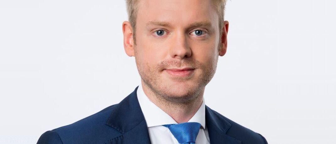 Philipp Müller ist Leiter Produkte bei Solidvest. © DJE Kapital
