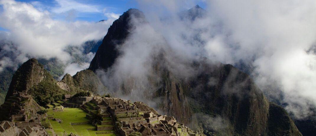 Ruinenstadt Machu Picchu in Peru: Lateinamerika zählt zu den aussichtsreichsten Anlageregionen für aktives Fondsmanagement.|© Amanda Kerr
