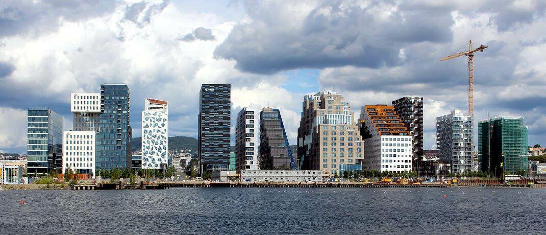 Hoch im Norden bei den Fjorden: Die norwegische Hauptstadt Oslo erreicht in der Vontobel-Liste für aussichtsreiche Standorte den ersten Platz|© Alexandra von Gutthenbach-Lindau auf Pixabay