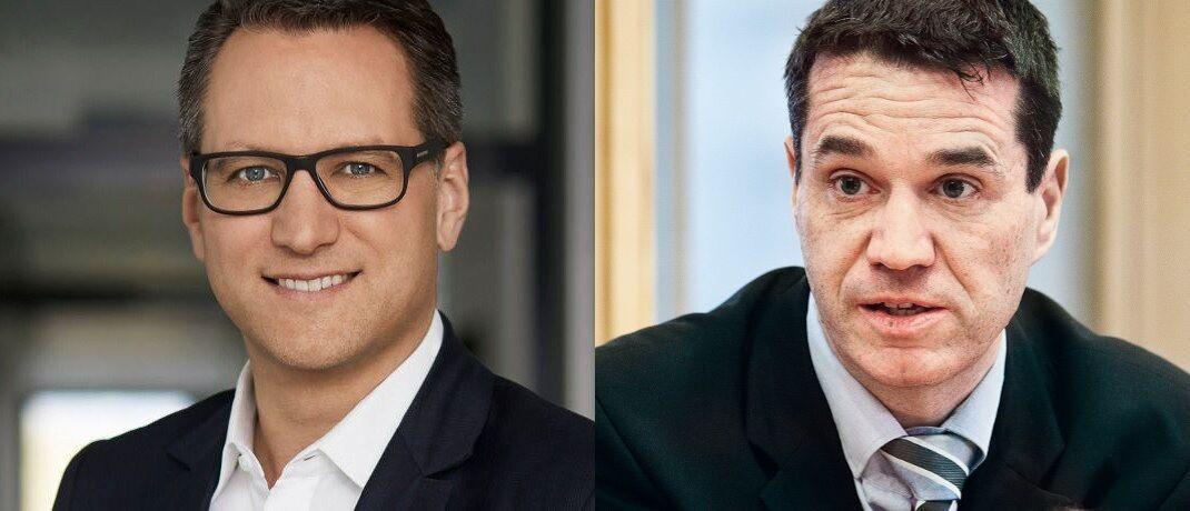Sebastian Grabmaier (JDC) und Oliver Pradetto (Blau Direkt) wollen über eine mögliche Kooperation beider Maklerpools verhandeln.