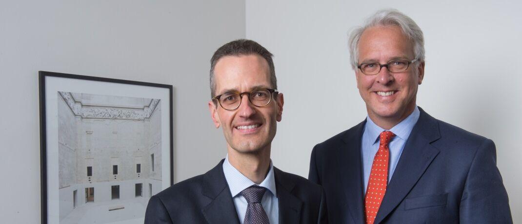 Georg von Wallwitz und Ernst Konrad sprechen über Facebooks neue Krypto-Währung Libra|© Eyb & Wallwitz