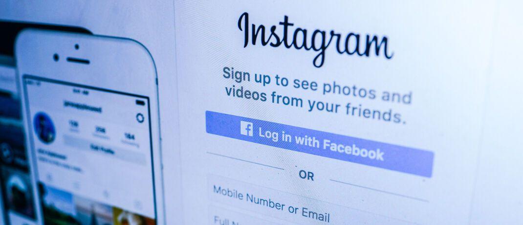 Screenshot der Instagram-Seite: Das Online-Netzwerk zum Teilen von Fotos und Videos gehört ebenso wie Whatsapp zu Facebook. Der Tech-Riese will mit anderen US-Firmen eine digitale Währung schaffen.|© Fancycrave.com