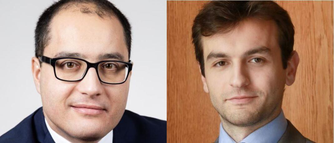 Brice Prunas (l.) und Maxence Radjabi managen den ODDO BHF Artificial Intelligence. © ODDO BHF Asset Management