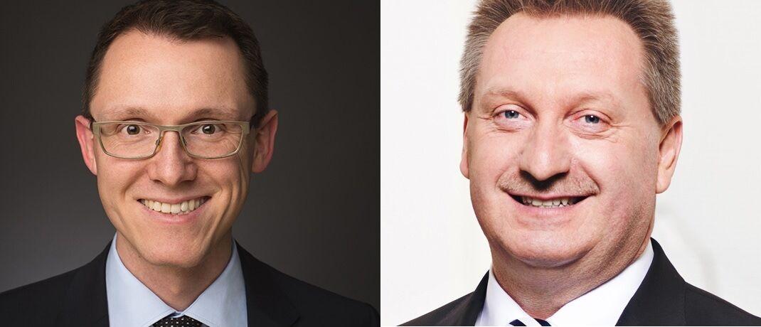 Norbert Schmidt (links) und Gerhard Mayer. |© Heemann VV