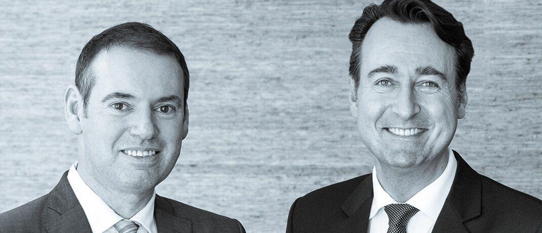 Invios-Gesellschafter Heiner Hauck (links) und Nikolas Kreuz, Geschäftsführender Gesellschafter der Invios.|© Invios
