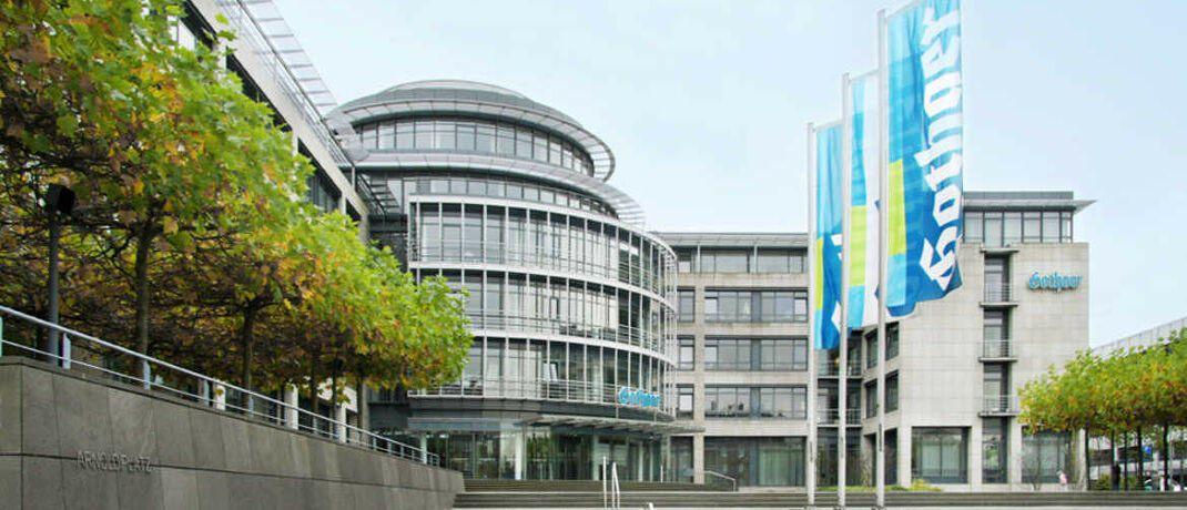 Firmensitz der Gothaer Krankenversicherung in Köln: Der Gothaer Konzern ist mit rund 4,3 Millionen Versicherten eines der größten Versicherungsunternehmen Deutschlands.|© Gothaer Krankenversicherung AG