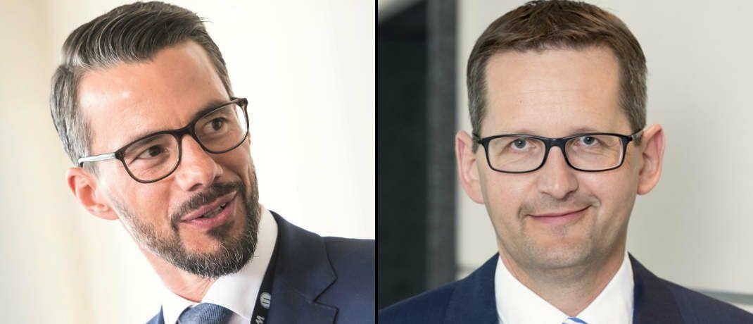Verantwortlich für die Übernahme: Wertgrund-Chef Thomas Meyer (links) und Jörg W. Stotz, Sprecher der Geschäftsführung bei Hansainvest