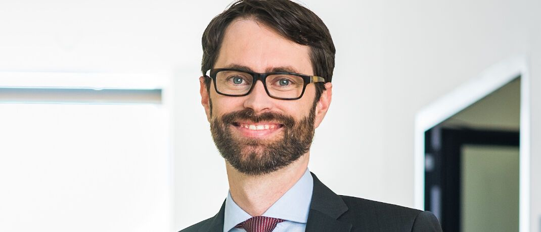 Benjamin Fischer, Leiter Strategische Kunden und Partnerschaften im Retail-Geschäft von Blackrock. © Blackrock