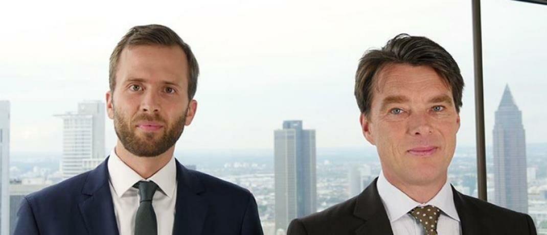 Felix Herrmann (l.) und Martin Lück von BlackRock © BlackRock