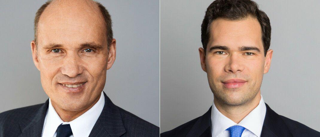 Michael Mewes (li.) und Julian Müller sollen dem Vertrieb an institutionelle Kunden auf die Sprünge helfen. © DJE Kapital