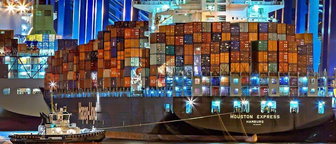 Container im Hamburger Hafen (Symbolbild): P&R wollte Anlegern über vermietete Container Renditen verschaffen.|© Julius Silver / Pixabay
