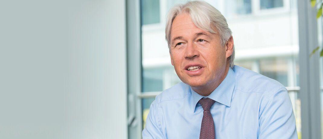 Bernhard Langer ist als Investment-Chef Quantitative Strategies weltweit für die quantitativen Aktienstrategien von Invesco zuständig.|© Martin Joppen