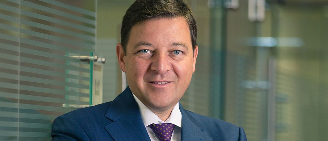 """Marcus Lingel, geschäftsführender Gesellschafter der Merkur Bank: """"Wir steigern den Ertrag und die Investitionskraft"""". © Merkur Bank"""
