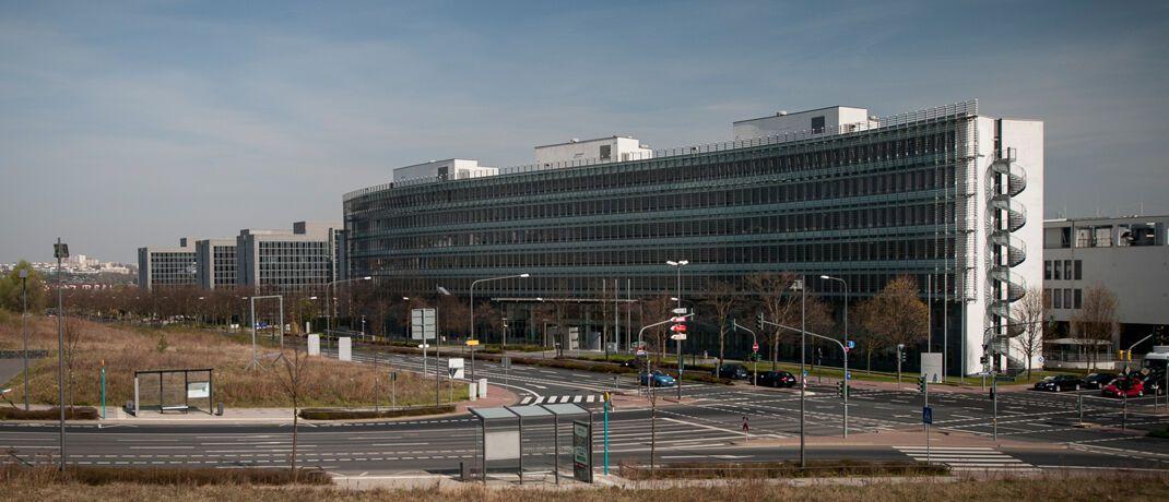 Bafin-Gebäude in Frankfurt: Die Behörde reguliert die Ausgabe von Krypto-Token.|© Kai Hartmann / Bafin