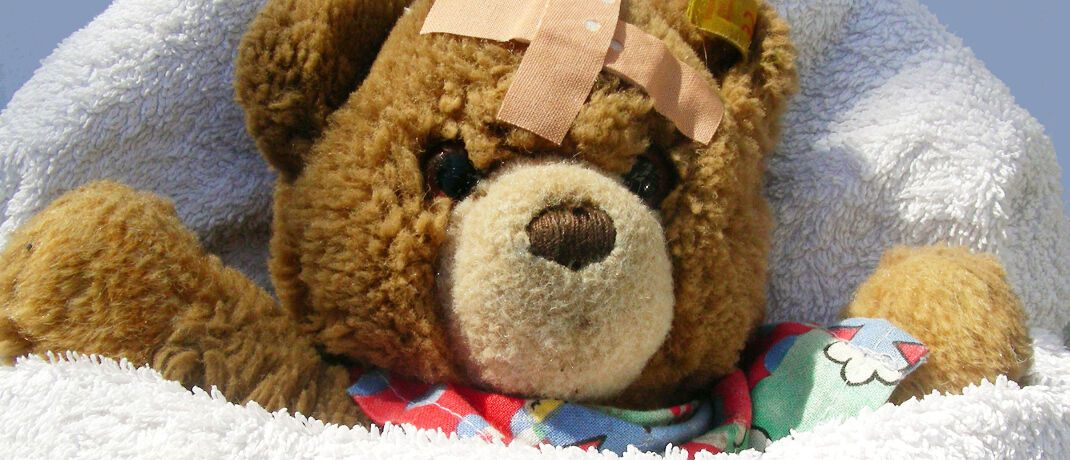 """Teddy: Laut Finanztest """"stehen mehrere Eltern bald ohne Schutz für ihre Kinder da"""".  © S. Hofschlaeger / <a href='http://www.pixelio.de/' target='_blank'>pixelio.de</a>"""