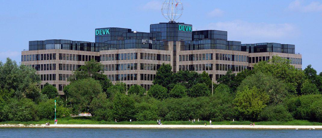 DEVK-Hauptverwaltung in Köln: Die Versicherungsgesellschaft landet auf Rang 3 der Kundenzufriedenheits-Studie.|© Rolf Heinrich Köln CC-BY-3.0 Wikimedia Commons