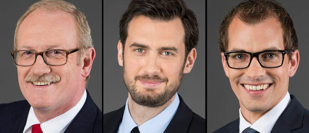 Lingohr-Leute (von links): Michael Broszeit, Goran Vasiljevic und Steffen Ulshöfer © Lingohr & Partner