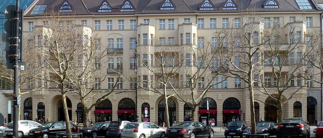 Haus Cumberland im Berliner Stadtteil Charlottenburg ist Sitz des Deutschland-Büros von Dimensional Fund Advisors.|© Von Fridolin freudenfett (Peter Kuley) - Eigenes Werk, CC BY-SA 3.0, https://commons.wikimedia.org/w/index.php?curid=26242976