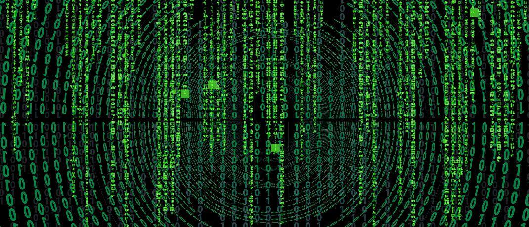 Zahlensalat in der Matrix: Robo Advisors wollen Anlegergeld mithilfe von Algorithmen verwalten.|© Gerd Altmann / Pixabay