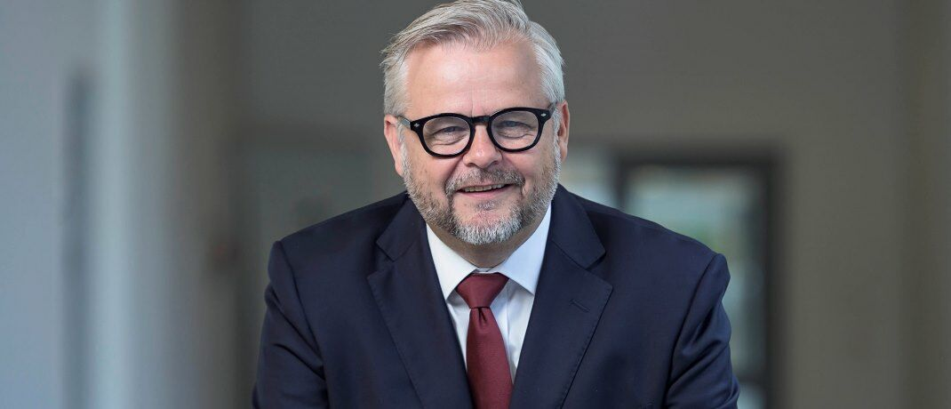 Hält die Weltwirtschaft am Laufen: Danske Bank AMs Investmentstratege Lars Skovgaard Andersen sieht Jerome Powell und die US-Notenbank Fed als wichtigen Faktor für das Wirtschaftswachstum.|© Danske Bank AM