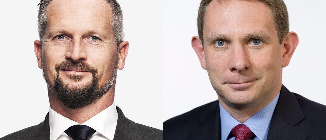 Wechseln im Oktober in den Vertrieb von Bayerninvest: Marcus Perschke (li.) und Steffen Hahn.
