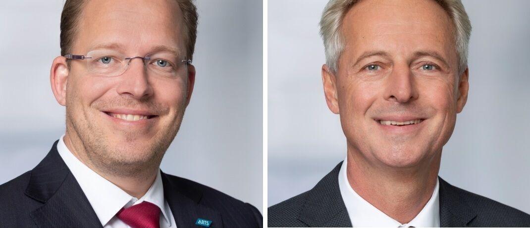 Wurden zu Geschäftsführern von Arts Asset Management befördert: Gunther Pahl (li.) und Helmut Spitzer.