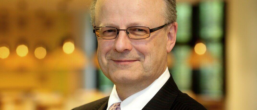 Hartwig Webersinke leitet das Institut für Vermögensverwaltung (InVV) an der Hochschule Aschaffenburg.|© InVV