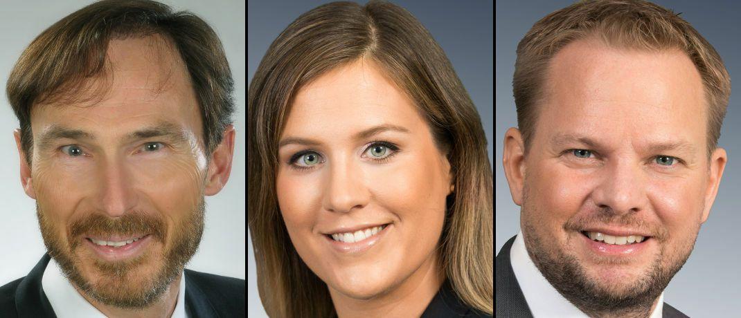 Die neue Führungsriege: Jens Göttler, Berit Hamann und Dennis Jeske (v.l.n.r.)|© Veritas