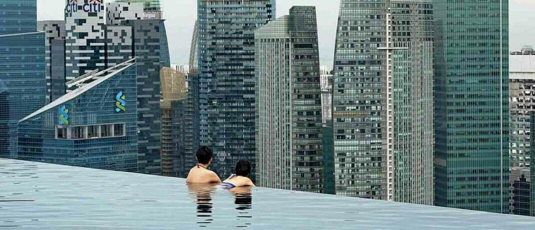 Infinity-Pool als Must-have für Hotels: Small-Cap-Spezialist Scott Woods sucht auch in Marktnischen nach guten Invesmentgelegenheiten. © Getty Images
